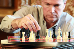 Making the Right Move Stock Images