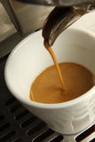 Making Ristretto Stock Photography