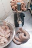 Making Sausage Stock Images