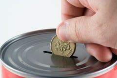 Making savings Stock Photo