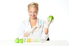 Making science. Stock Images
