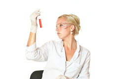 Making science Royalty Free Stock Image