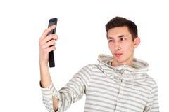 Making selfie Stock Image