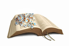 Making sense of the bible Stock Photo