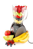 Making smoothies Royalty Free Stock Image