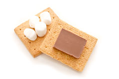 Making Smores Stock Image