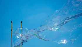 Making Soap bubble Royalty Free Stock Photography