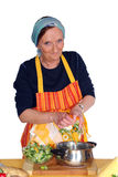 making soup Στοκ φωτογραφίες με δικαίωμα ελεύθερης χρήσης