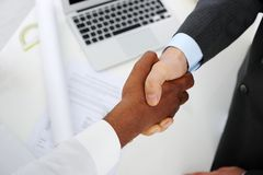 Making a successful deal Stock Images