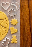 Making Cookies Stock Images