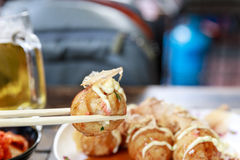 Making of Takoyaki Stock Photos