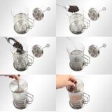Making tea Stock Photos