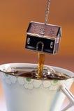 Making Tea royalty free stock image