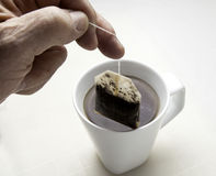 Making Tea Royalty Free Stock Images