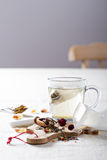 Making tea with teabags Royalty Free Stock Photo