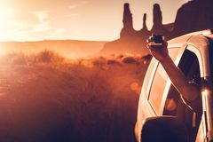 Making Travel Videos Royalty Free Stock Photo