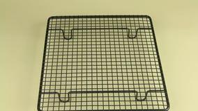 Making Vanilla Cookies 7 stock footage