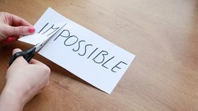 Making word impossible into possible