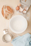 Makings for Bread Stock Photos