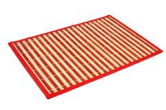 A makisu, a japanese bamboo mat Stock Photos