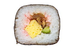Makizushi Delicious sushi rolls Stock Images
