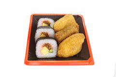 Makizushi Delicious sushi rolls Royalty Free Stock Image