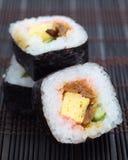 Makizushi Delicious sushi rolls Stock Image