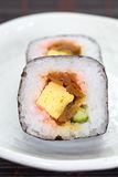 Makizushi Delicious sushi rolls Stock Photography