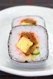 Makizushi Delicious sushi rolls Stock Photography