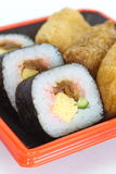 Makizushi Delicious sushi rolls Stock Photos