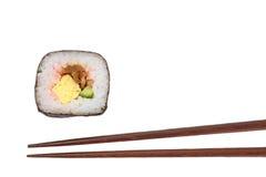 Makizushi Delicious sushi rolls Stock Images