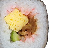 Makizushi Delicious sushi rolls Royalty Free Stock Photography