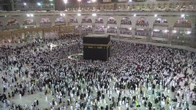Makkah, Σαουδική Αραβία απόθεμα βίντεο