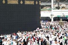 Makkah Kaaba麦加朝圣穆斯林 库存图片
