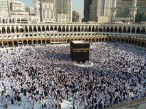 Makkah Kaaba Hajj Muslims Royalty Free Stock Photography