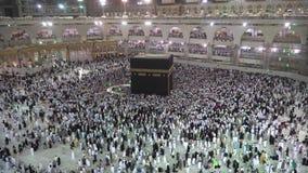 Makkah, la Arabia Saudita almacen de video