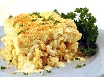 Makkaroni und Käse lizenzfreies stockfoto