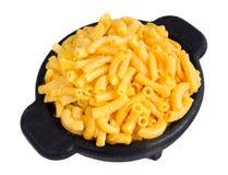 Makkaroni- und Käseabendessen lizenzfreies stockbild