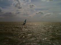 Makkum Windsurfing Royalty Free Stock Photo