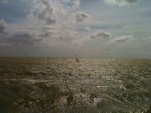 Makkum Windsurfing Stock Images