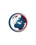 Makler des globalen Geschäfts extrahieren 3 Betriebsversicherungszusammenfassung stock abbildung