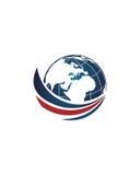 Makler des globalen Geschäfts extrahieren 1 Betriebsversicherungszusammenfassung stock abbildung
