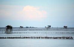 Maklong river with Krateng Royalty Free Stock Photos