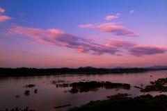 Makong河 库存图片