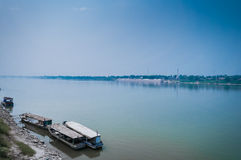 Makong river in Thailand Stock Image