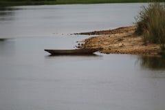 Makoro en el Zambeze Foto de archivo