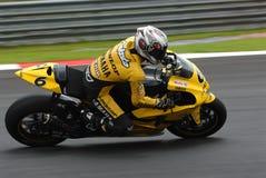 Makoto giapponese Tamada Dunlop Yamaha Polini 2007 m. Fotografie Stock