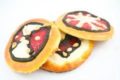 Makowi torty Zdjęcie Stock
