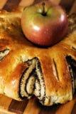 Makowy kulebiak Obrazy Royalty Free