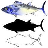 Makrelen-Fisch-Illustration Stockfotografie